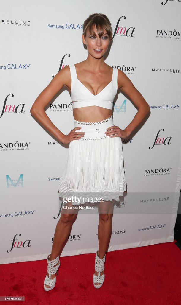 <a gi-track='captionPersonalityLinkClicked' href=/galleries/search?phrase=Karlie+Kloss&family=editorial&specificpeople=5555876 ng-click='$event.stopPropagation()'>Karlie Kloss</a> attends the Daily Front Row's Fashion Media Awards at Harlow on September 6, 2013 in New York City.