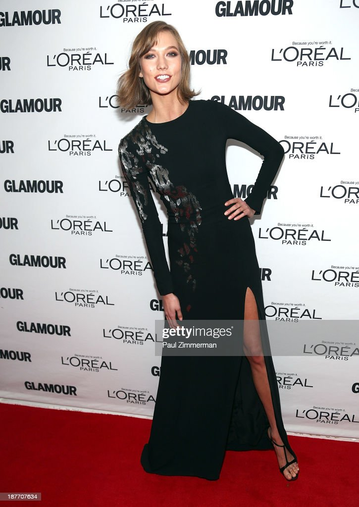 <a gi-track='captionPersonalityLinkClicked' href=/galleries/search?phrase=Karlie+Kloss&family=editorial&specificpeople=5555876 ng-click='$event.stopPropagation()'>Karlie Kloss</a> attends the Glamour Magazine 23rd annual Women Of The Year gala on November 11, 2013 in New York, United States.