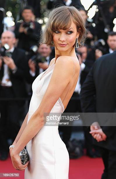 Karlie Kloss attends 'The Immigrant' Premiere during the 66th Annual Cannes Film Festival at Grand Theatre Lumiere on May 24 2013 in Cannes France
