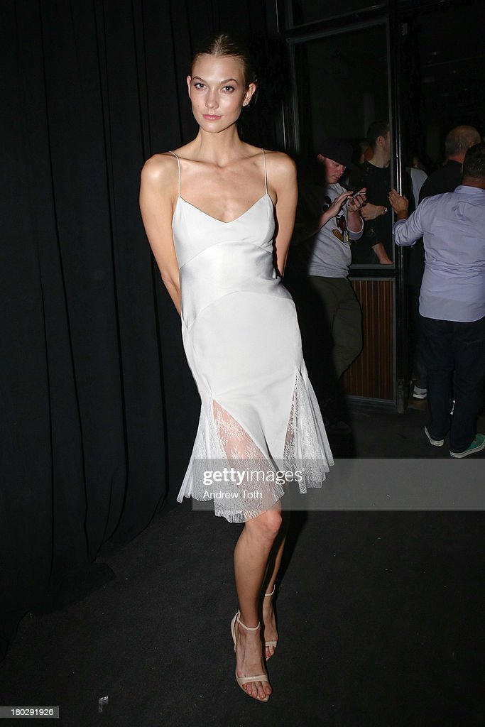<a gi-track='captionPersonalityLinkClicked' href=/galleries/search?phrase=Karlie+Kloss&family=editorial&specificpeople=5555876 ng-click='$event.stopPropagation()'>Karlie Kloss</a> attends the Interview Magazine's Model Issue Party at Monarch on September 10, 2013 in New York City.