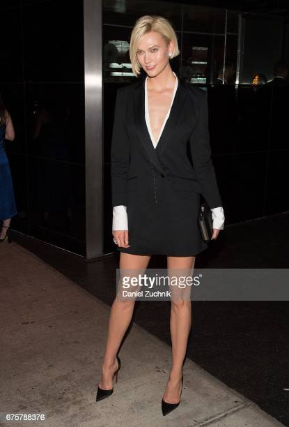 Karlie Kloss attends the Marc Jacobs afterparty of the Rei Kawakubo/Comme des Garcons Art Of The InBetween Costume Institute Gala at the Boom Boom...