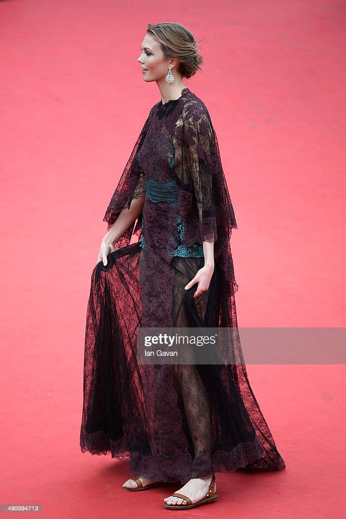Karlie Kloss attends the Opening ceremony and the 'Grace of Monaco' Premiere during the 67th Annual Cannes Film Festival on May 14, 2014 in Cannes, France.