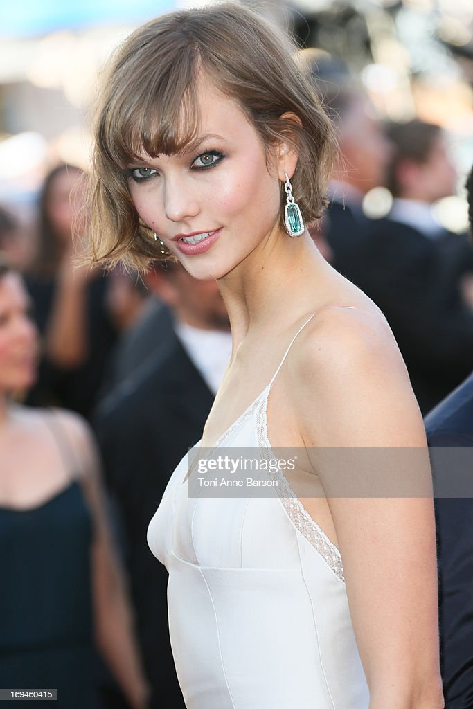 Karlie Kloss attends the premiere of 'The Immigrant' at The 66th Annual Cannes Film Festival on May 24, 2013 in Cannes, France.