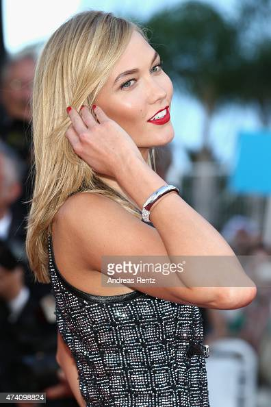 Karlie Kloss attends the Premiere of 'Youth' during the 68th annual Cannes Film Festival on May 20 2015 in Cannes France