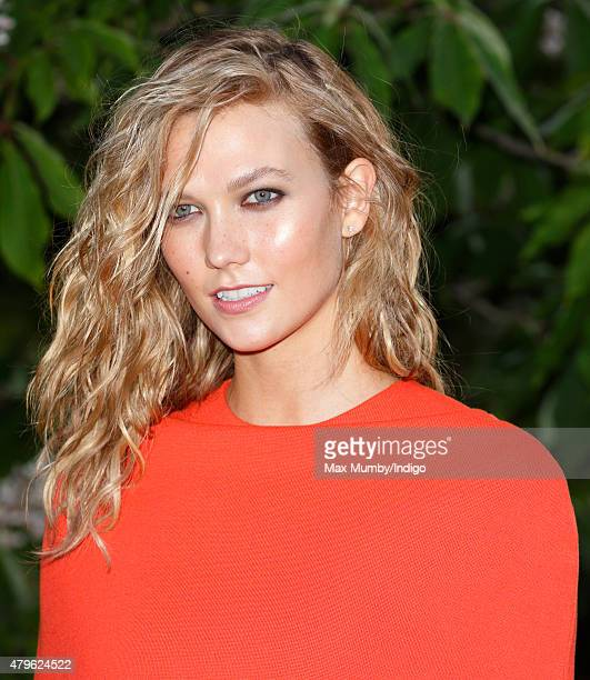 Karlie Kloss attends the Serpentine Gallery Summer Party at The Serpentine Gallery on July 2 2015 in London England