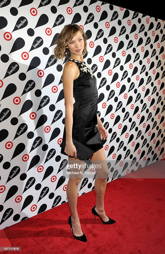 Karlie Kloss attends the Target + Neiman Marcus Holiday Collection launch on November 28, 2012 in New York City.