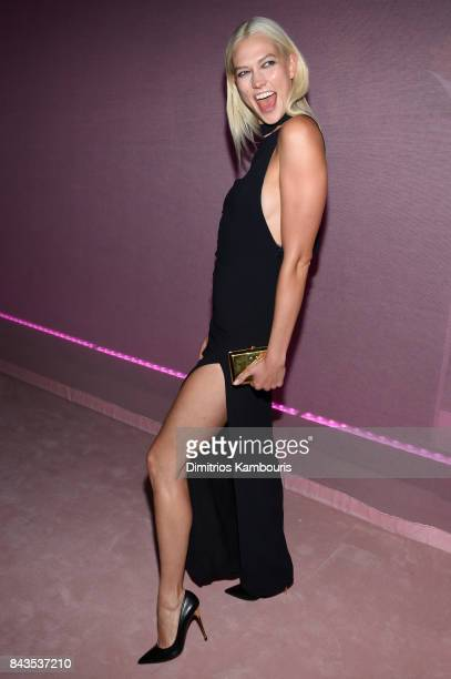 Karlie Kloss attends the Tom Ford Spring/Summer 2018 Runway Show After Party on September 6 2017 in New York City