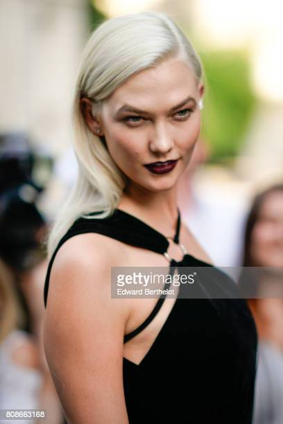 Karlie Kloss attends the Vogue Foundation Dinner during Paris Fashion Week Haute Couture Fall/Winter 20172018 on July 4 2017 in Paris France