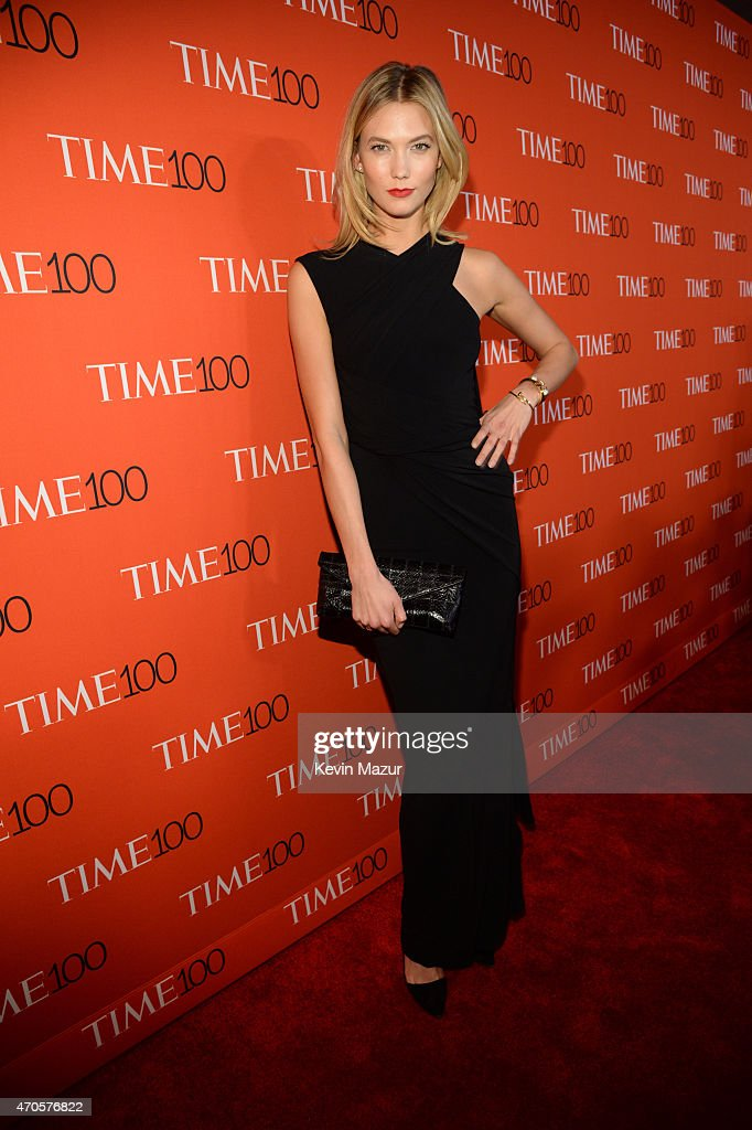 Karlie Kloss attends TIME 100 Gala, TIME's 100 Most Influential People In The World at Jazz at Lincoln Center on April 21, 2015 in New York City.