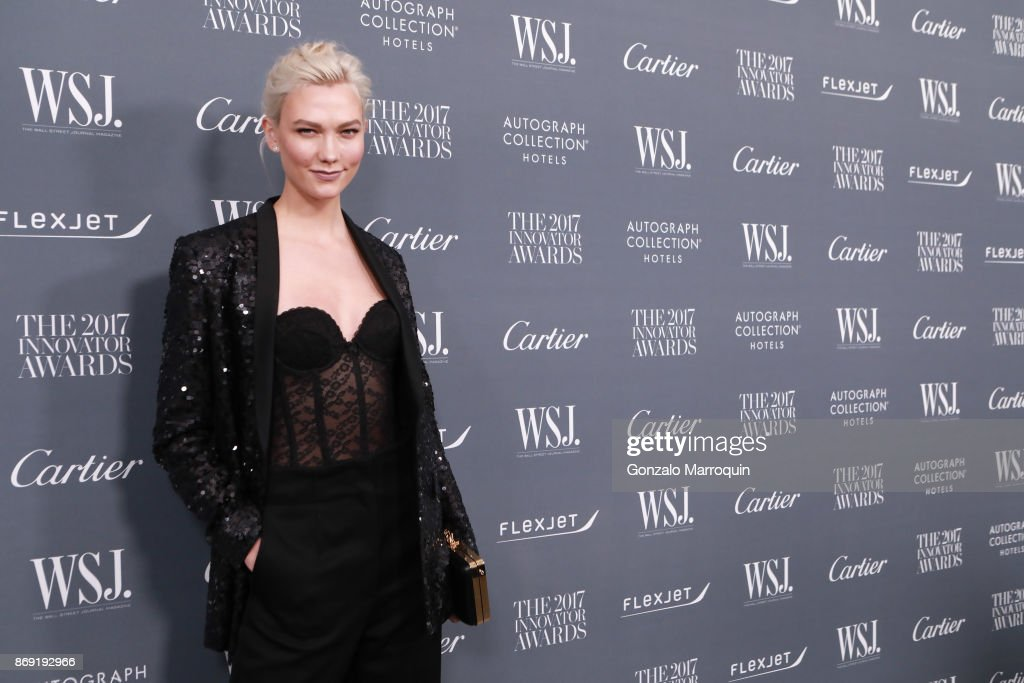 Karlie Kloss during the WSJ Magazine 2017 Innovator Awards at Museum of Modern Art on November 1, 2017 in New York City.