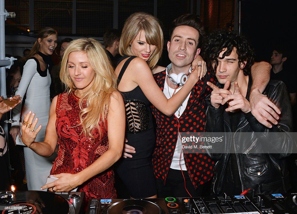 The Universal Music Brits Party Hosted By Bacardi At The Soho House Pop-Up