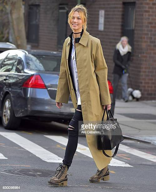 Karlie Kloss is seen in the West Village on December 16 2016 in New York City