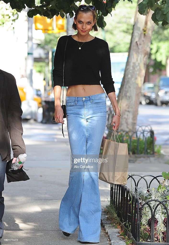 <a gi-track='captionPersonalityLinkClicked' href=/galleries/search?phrase=Karlie+Kloss&family=editorial&specificpeople=5555876 ng-click='$event.stopPropagation()'>Karlie Kloss</a> is seen in the West village on September 9, 2013 in New York City.