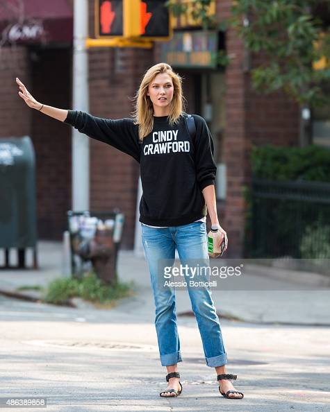 Karlie Kloss is seen in West Village on September 3 2015 in New York City