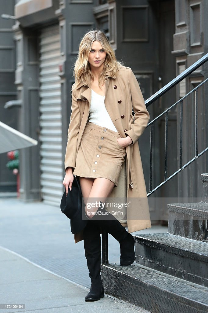 Karlie Kloss is seen on May 06 2015 in New York City
