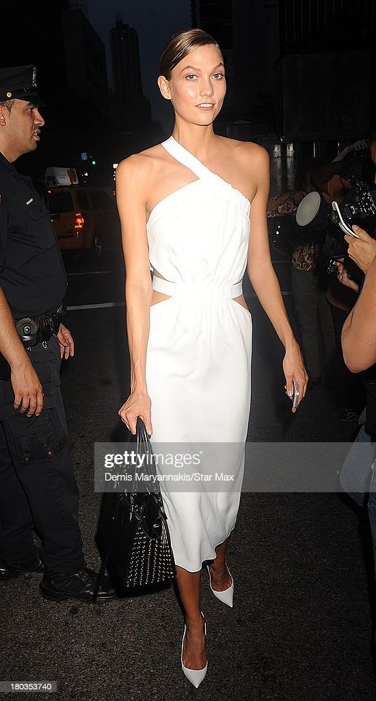 <a gi-track='captionPersonalityLinkClicked' href=/galleries/search?phrase=Karlie+Kloss&family=editorial&specificpeople=5555876 ng-click='$event.stopPropagation()'>Karlie Kloss</a> is seen on September 11, 2013 in New York City.
