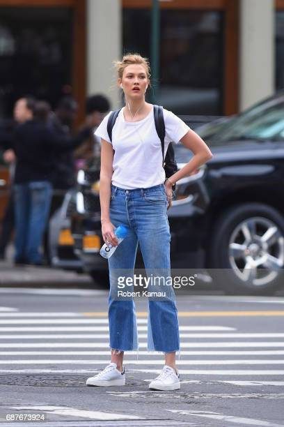 Karlie Kloss seen out in Manhattan on May 23 2017 in New York City