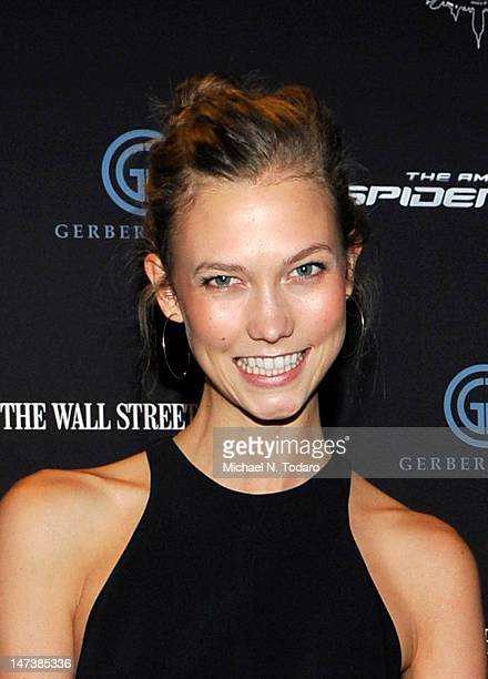 Karlie Kloss 'The Amazing SpiderMan' New York Special Screening at Regal Union Square Theatre Stadium 14 on June 28 2012 in New York City