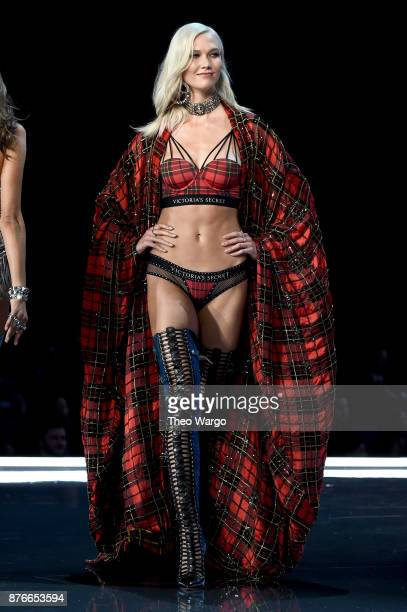 Karlie Kloss walks the runway during the 2017 Victoria's Secret Fashion Show In Shanghai at MercedesBenz Arena on November 20 2017 in Shanghai China