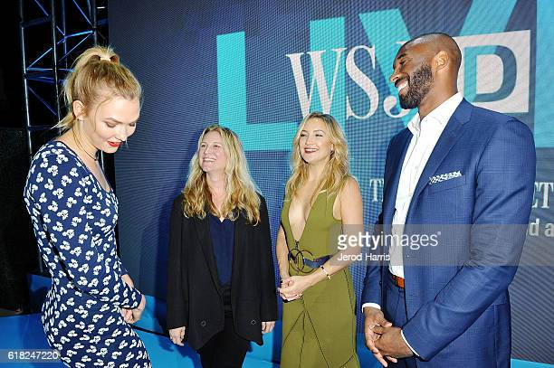 Karlie Kloss WSJ Magazine EditorinChief Kristina O'Neill Kate Hudson and Kobe Bryant attend WSJD LIVE After Dark at Montage Laguna Beach on October...