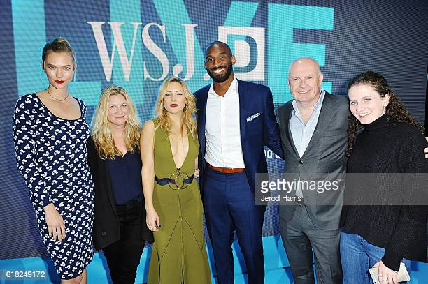 Karlie Kloss WSJ Magazine EditorinChief Kristina O'Neill Kate Hudson Kobe Bryant WSJ EditorinChief Gerry Baker and Eliza Baker attend WSJD LIVE After...