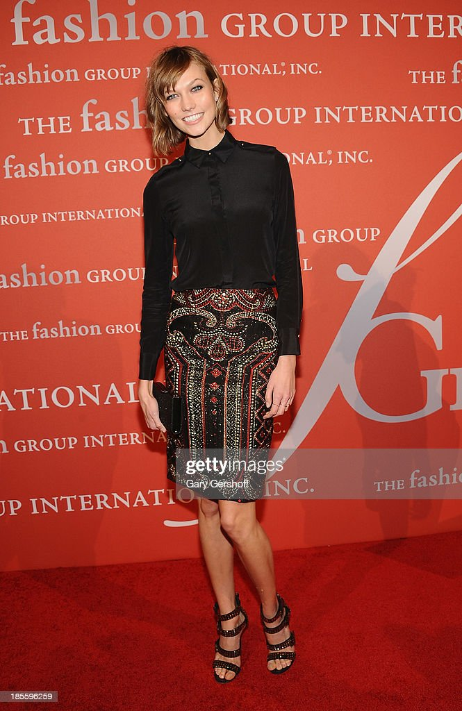 Karlie Koss attends the 30th Annual Night Of Stars presented by The Fashion Group International at Cipriani Wall Street on October 22, 2013 in New York City.