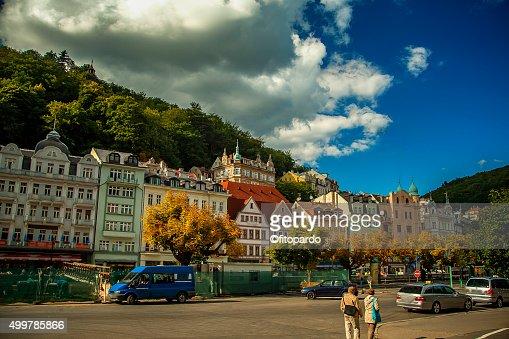 Karlovy Vary City Landscape