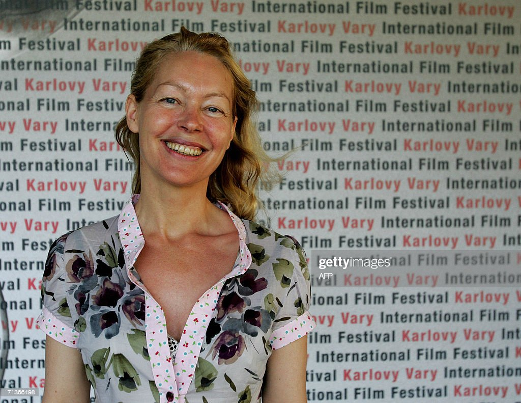 French director Virginie Wagon poses 04 July 2006 in Karlovy Vary (Carlsbad) during the 41st Karlovy Vary International Film Festival (KVIFF) before the screening of her latest movie 'This Girl Is Mine' ('L'enfant d'une autre'). The 41st KVIFF will present over 230 features, including 15 world premieres and 39 European or international premieres, from 30 June to 08 July.