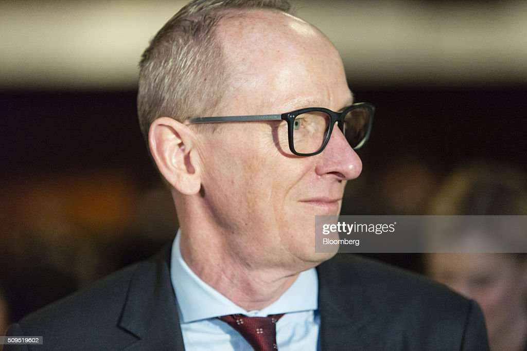 Karl-Thomas Neumann, chief executive officer of Adam Opel AG, looks on during the CAR Symposium in Bochum, Germany, on Thursday, Feb. 11, 2016. General Motors Co.'s German brand Opel will introduce its first fully electric car next year as part of a 29-model lineup overhaul, putting pressure on Volkswagen AG as it reels from the diesel-emissions scandal. Photographer: Martin Leissl/Bloomberg via Getty Images