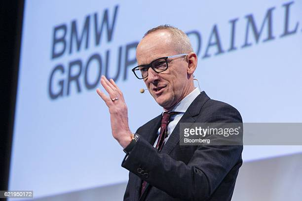 KarlThomas Neumann chief executive officer of Adam Opel AG speaks at the Handelsblatt Automotive Summit in Munich Germany on Wednesday Nov 9 2016...