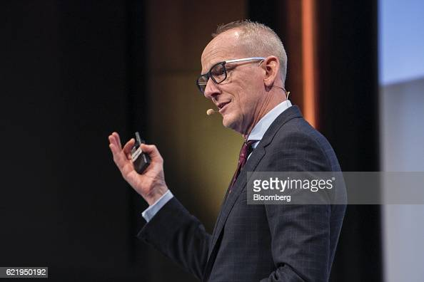 KarlThomas Neumann chief executive officer of Adam Opel AG speaks at the Handelsblatt Automotive Summit in Munich Germany on Wednesday Nov 9 2016...