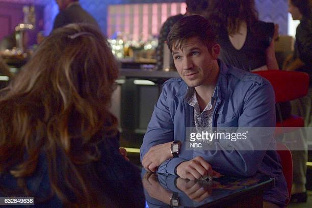 TIMELESS 'Karma Chameleon' Episode 112 Pictured Matt Lanter as Wyatt Logan