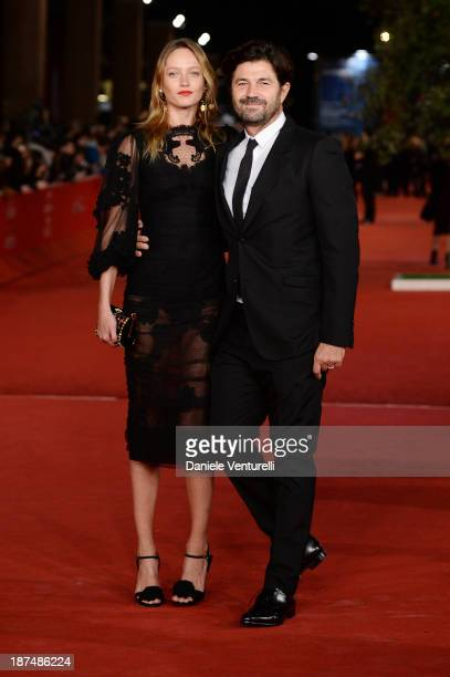 Karmen Pedaru and Riccardo Ruini attend 'Le Tentazioni Del Dottor Antonio' Premiere Restored with the contribuiton of Dolce Gabbanaduring The 8th...