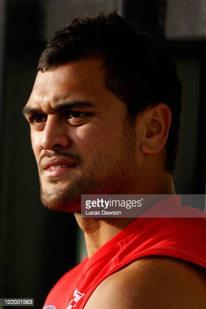 Karmichael Hunt of the Gold Coast rest on the bench during the round nine VFL match between the Coburg Tigers and the Gold Coast at Highgate...