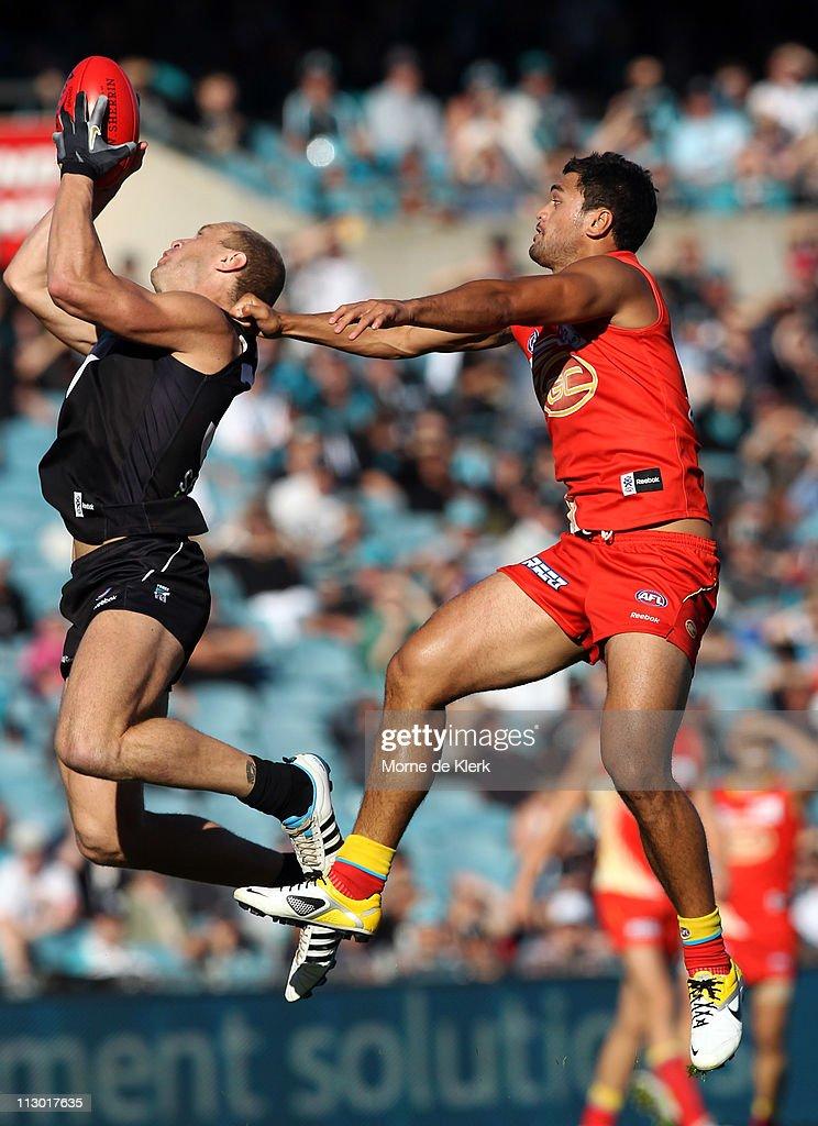 AFL Rd 5 - Port Adelaide v Gold Coast