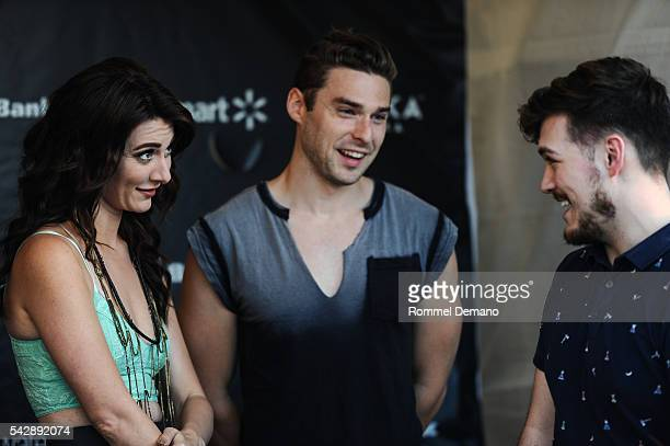 Karmin performs at New York City Pride 2016 The Ral at Pier 26 on June 24 2016 in New York City