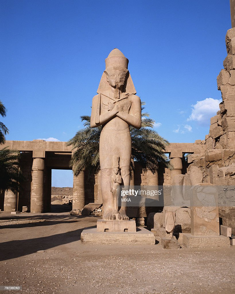 Karnak palace in Luxor, Egypt : Stock Photo