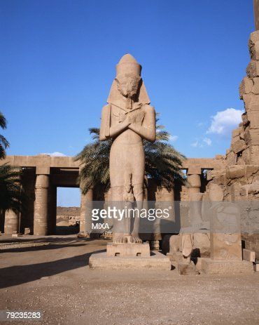 Karnak palace in Luxor, Egypt : Stock Photo