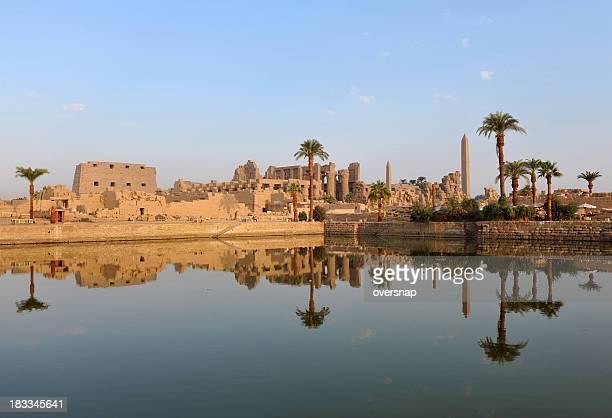 Amanhecer Templo de Karnak