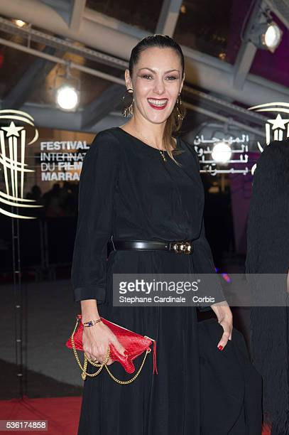 Karole Rocher attends the Opening Ceremony of the 15th Marrakech International Film Festival on December 4 in Marrakech Morocco