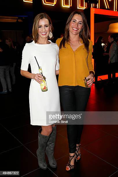 Karolin Oltersdorf and Birgit Noessing attend the premiere of the new MINI Clubman on October 29 2015 in Munich Germany