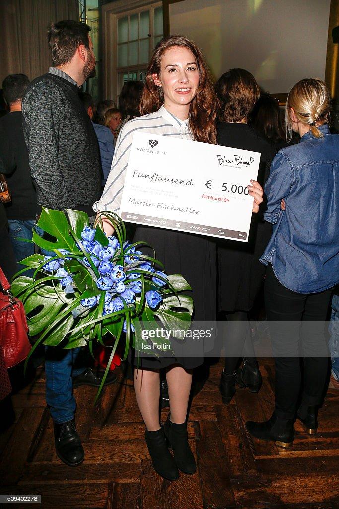 Karolin Wanger attends the Blaue Blume Awards 2016 on February 10, 2016 in Berlin, Germany.