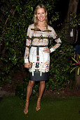 Karolina Karkova attends the Soho House BMW i Host Artist Talk Cocktail Reception In Celebration Of Art Basel Miami 2014 on December 2 2014 in Miami...