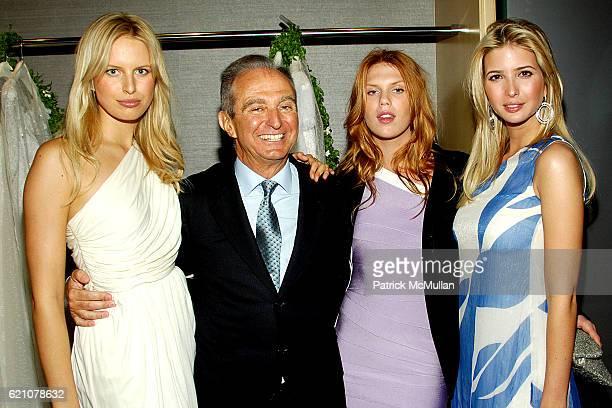 Karolina Kurkova Alberto Palatchi Alexandra Richards and Ivanka Trump attend Pronovias Commemorates the Grand Opening of the NY Flagship Store with...