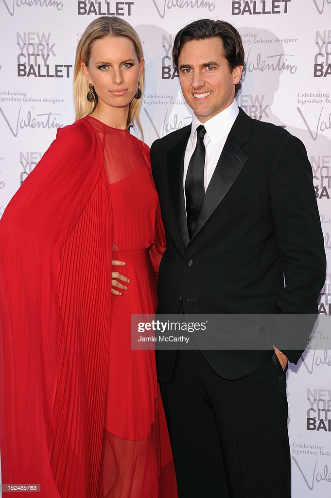 Karolina Kurkova and Archie Drury attend the 2012 New York City Ballet Fall Gala at the David H. Koch Theater, Lincoln Center on September 20, 2012 in New York City.