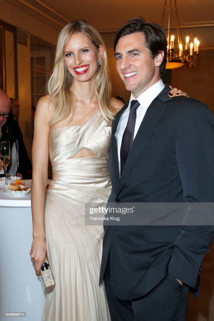 <a gi-track='captionPersonalityLinkClicked' href=/galleries/search?phrase=Karolina+Kurkova&family=editorial&specificpeople=202513 ng-click='$event.stopPropagation()'>Karolina Kurkova</a> and Archie Drury attend the PRIX Montblanc 2012 at the 'Konzerthaus am Gendarmenmarkt' on October 29, 2012 in Berlin, Germany.
