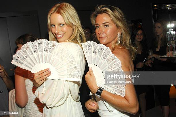 Karolina Kurkova and Susan Palatchi attend Pronovias Commemorates the Grand Opening of the NY Flagship Store with New Yorkers For Children at...