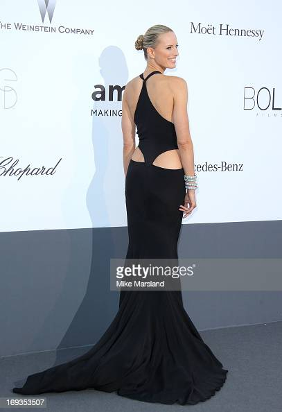 Karolina Kurkova arrives at amfAR's 20th Annual Cinema Against AIDS at Hotel du CapEdenRoc on May 23 2013 in Cap d'Antibes France