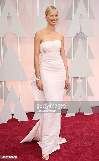 Karolina Kurkova arrives at the 87th Annual Academy Awards at Hollywood Highland Center on February 22 2015 in Los Angeles California
