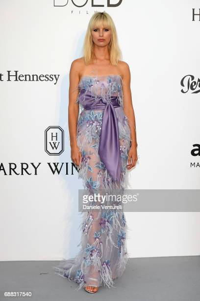 Karolina Kurkova arrives at the amfAR Gala Cannes 2017 at Hotel du CapEdenRoc on May 25 2017 in Cap d'Antibes France